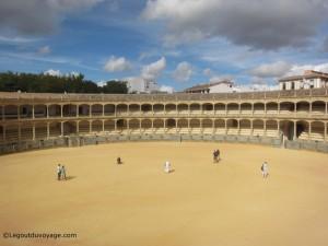 Visiter Ronda - Arène