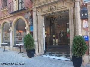 Vacances à Séville - Hôtel Dona Maria