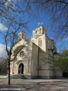 Visiter Ljubljana - Eglise serbe orthodoxe