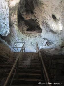 Château de Predjama - grottes
