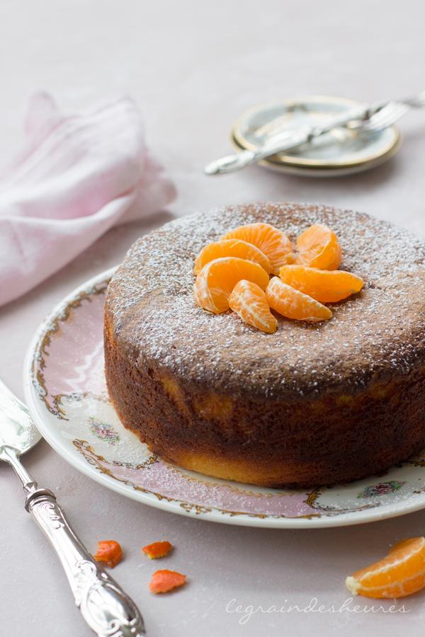 gâteau aux clémentines de Nigella lawson