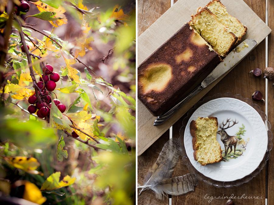 poires et automne