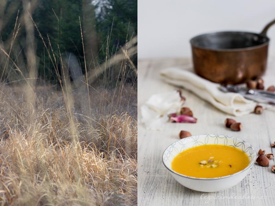 cuisine d'automne : soupe au potimarron