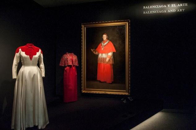 'Balenciaga Y La Pintura Española' Exhibition Opening