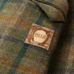 RITZ_SADDLER_Green_Tartan_Plaid_Wool_Tweed_Unlined_Jacket_EU_48_NEW_US_382_610x610