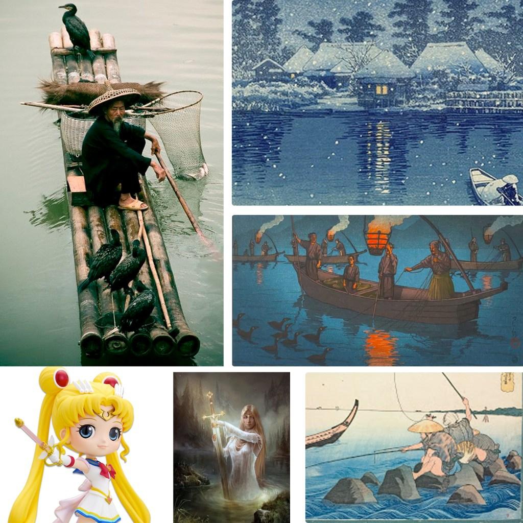 kanji lac 湖 inspiration