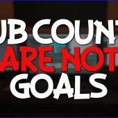 Sub Counts Are Not Goals