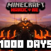 I Survived 1000 Days In Hardcore Minecraft… Here's What Happened