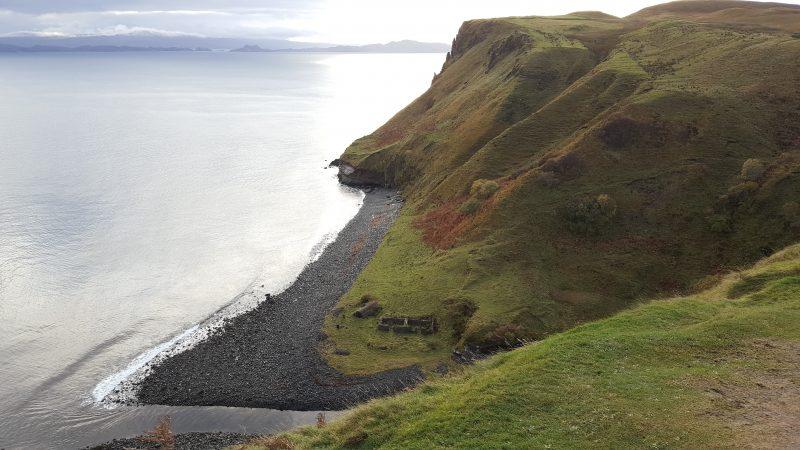 סקוטלנד בעקבות זרה, נוכריה