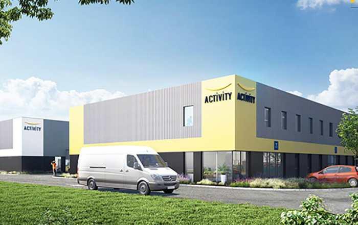 Village entreprises Concept-Ty Promotion au Havre ZAC du Pressoir