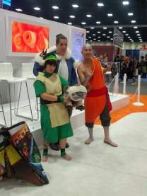 Some of the characters from Avatar