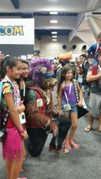 Amazing Bebop cosplay!