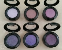 Purples (Top, L-R): Digit, Illegal Cargo, Lotusland (Bottom, L-R): Amethyst, Parfait Amour, Satellite Dreams