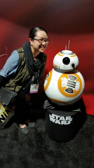 The most popular (and probably only) droid at CES.