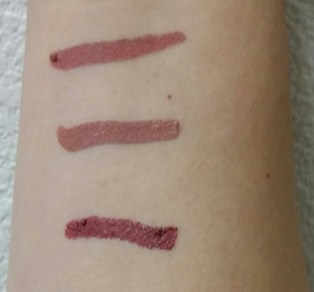 Top to bottom: Bedtime Flirt, Push-Up, Rome