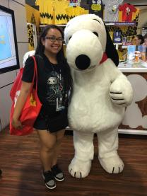 SDCC isn't really the same unless I see Snoopy around. Even better to run into him.