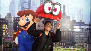 It's a-me with Mario!