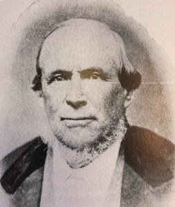 Bishop David Evans, a Lehi Pioneer and water visionary.
