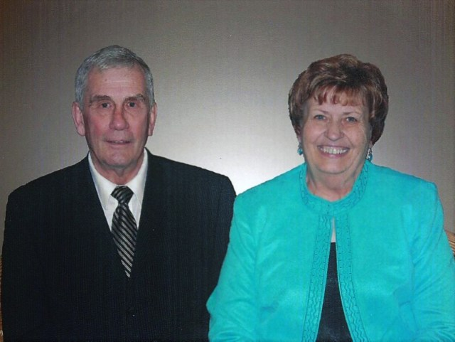 Bill and Kaye powell together