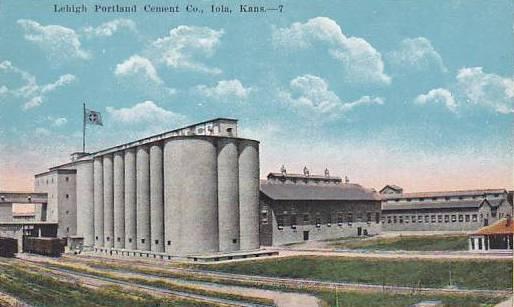 Lehigh Portland Cement Company - Postcard