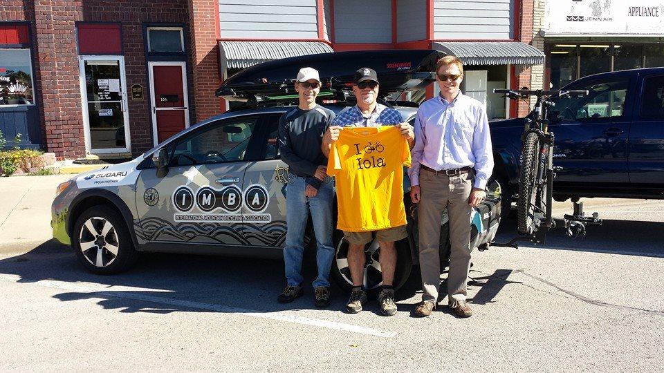 IMBA Visits Lehigh Portland Trails