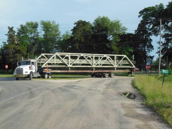 Unruh Bridge Moving