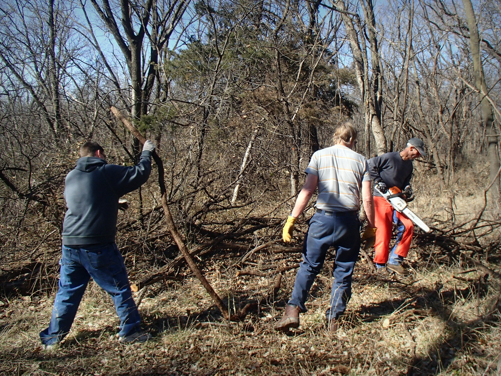 Lehigh Portland Trails Work Day February 14th