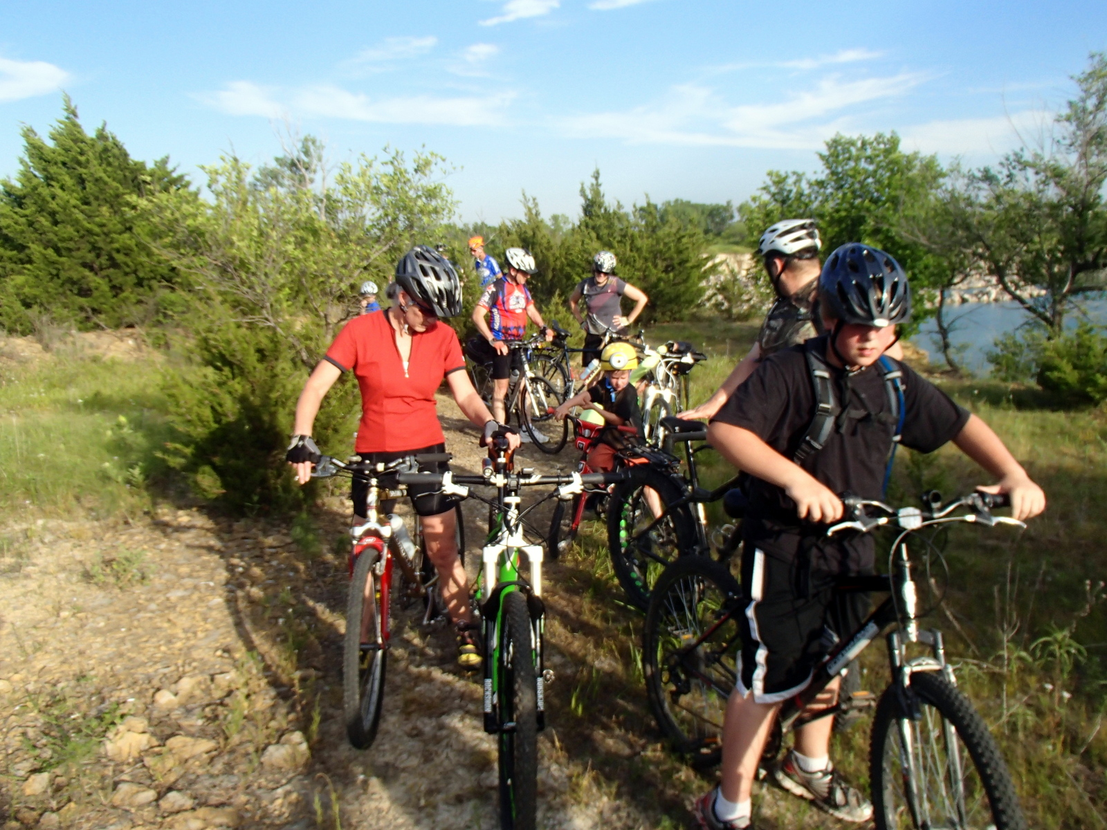 Get Your Grin On at the Lehigh Portland Trails​