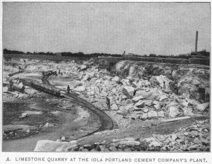 Iola Portland Cement Quarry
