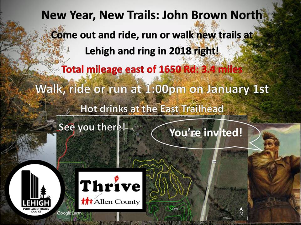 New Trails on New Years Day