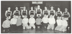 1955 Allentown Team Photo (Photo Courtesy of Allentown H.S. Yearbook)