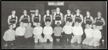 Allentown Team Photo (Photo Courtesy of Allentown H.S. Yearbook)