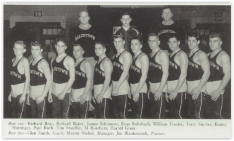 LVL Champ Allentown Canaries (Photo Courtesy of Allentown H.S. Yearbook)