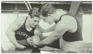 State Champ Al Rushatz (Photo Courtesy of Allentown H.S. Yearbook)