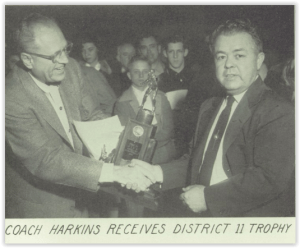 Coach Harkins Leads Hurricanes to District Title (Photo Courtesy of Bethlehem H.S. Yearbook)