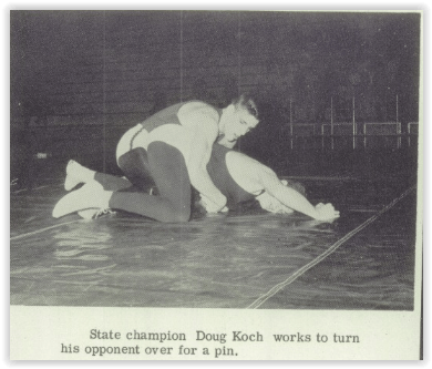 State Champion Doug Koch (Photo Courtesy of Bethlehem H.S. Yearbook)