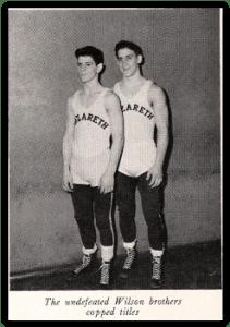 Nazareth's Wilson Brothers - Harold & John (Photo Courtesy of Nazareth H.S. Yearbook)