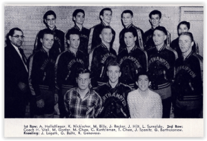 1958 Konkrete Kids Tied the Canaries (Photo Courtesy of Northampton H.S. Yearbook)
