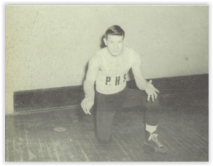 NJ State Champ, Jim Bronco (Photo Courtesy of Phillipsburg H.S. YearbooK)