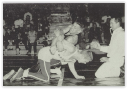 Russ Rohrbach Won His Third District Title (Photo Courtesy of Allentown H.S. Yearbook)