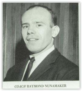 Nazareth Coach Ray Nunamaker (Photo Courtesy of Nazareth H.S. Yearbook)