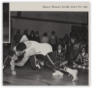 Marty Mascari Had Many Key Dual Wins (Photo Courtesy of Phillipsburg H.S. Yearbook)