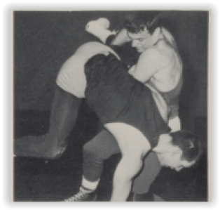 Solehi 180 Pounder, Jeff Gibbs (Photo Courtesy of Southern Lehigh H.S. Yearbook)