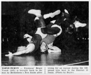 1962 District XI Wrestling