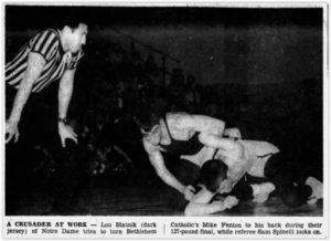 Notre Dame Wrestling