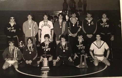1980 Colonial League Wrestlling