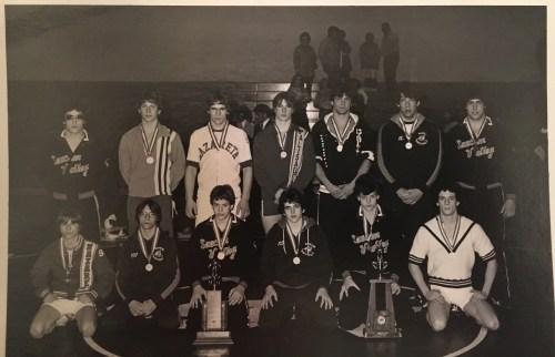 1980 Colonial League Wrestling