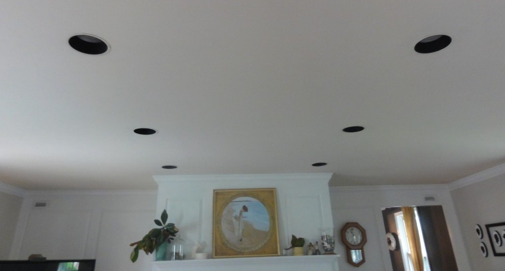 Painting Recessed Light Fixtures