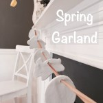 Diy Spring Garland Craft Lehman Lane