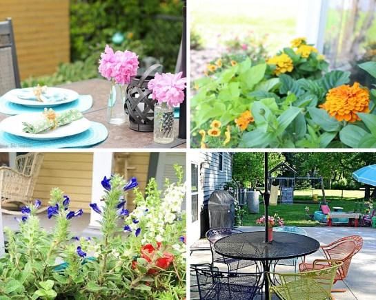 Summer Garden tour and blog hop